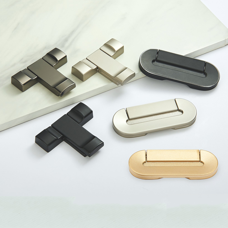 CLASP RECESSED CABINET HANDLE