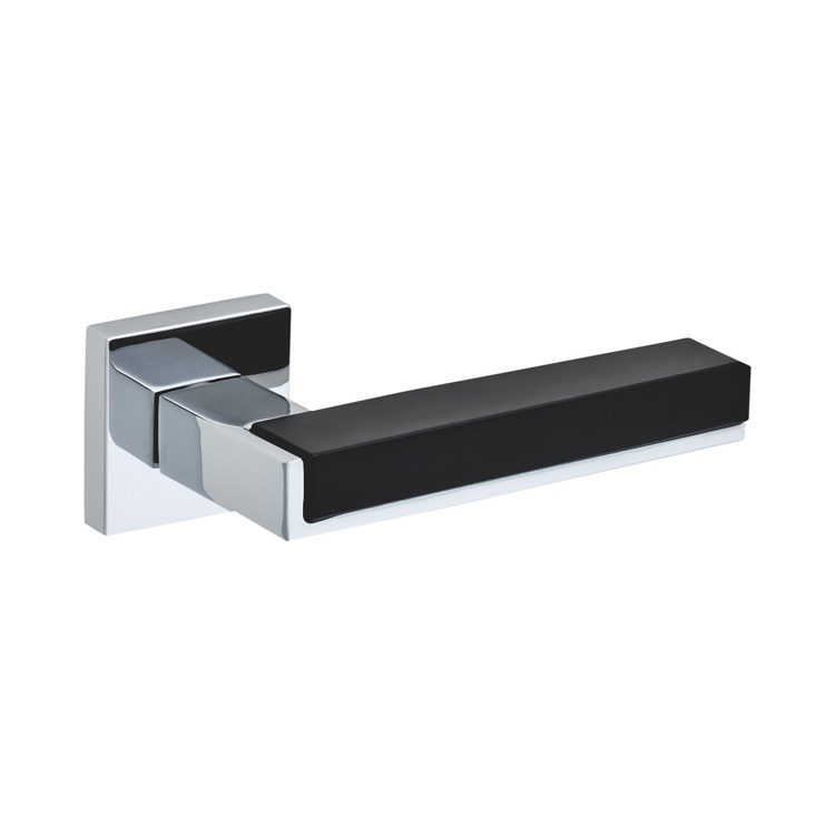 DOOR HANDLE A44-9800 CP/BLACK