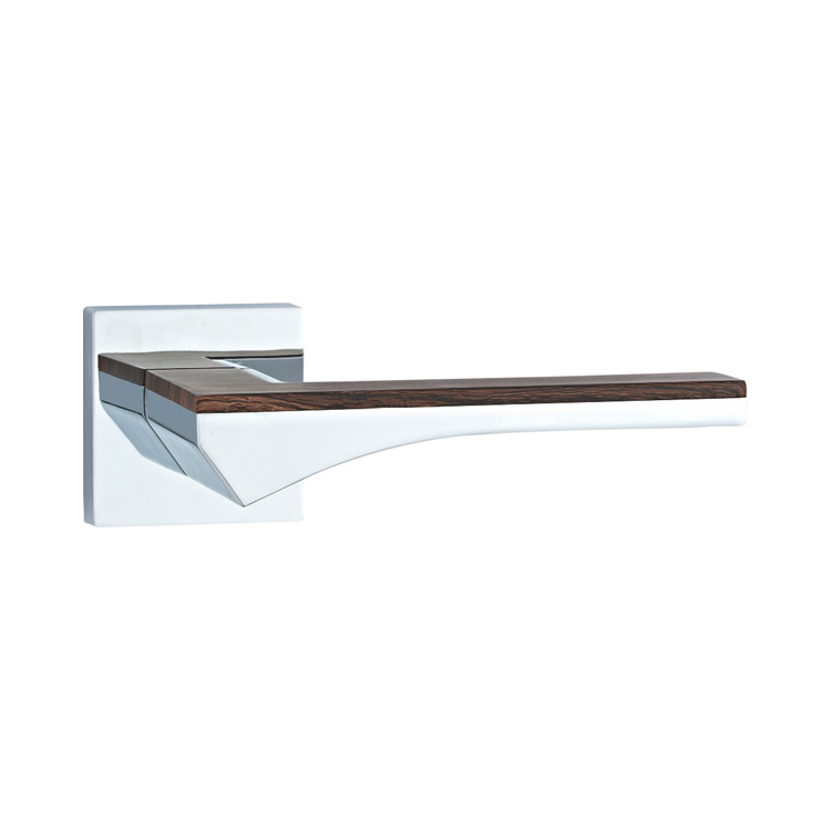 DOOR HANDLE A44-9788 CP/WOODEN
