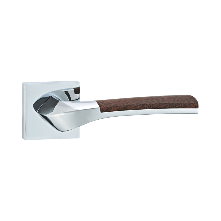 DOOR HANDLE A44-9790 CP/WOODEN