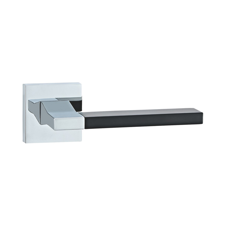 DOOR HANDLE A44-9793 CP/BLACK